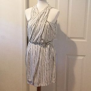 Adeline Rae Striped Dress